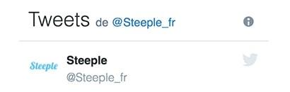 Tweets de Steeple