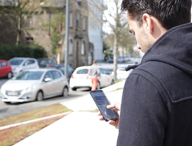 Steeple sur un portable