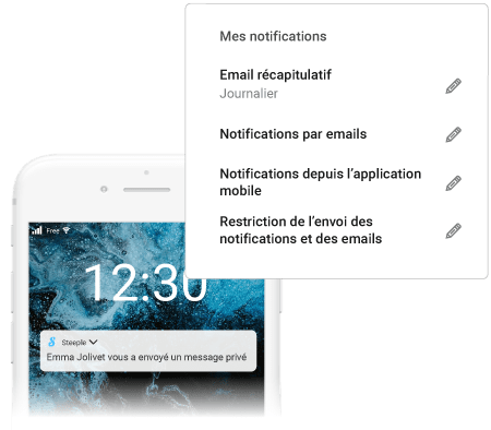 Notification : Alertez sans déranger