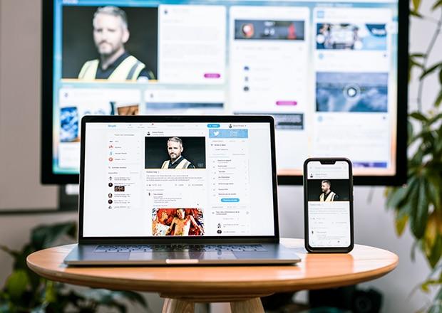 solución de comunicación interna multicanal