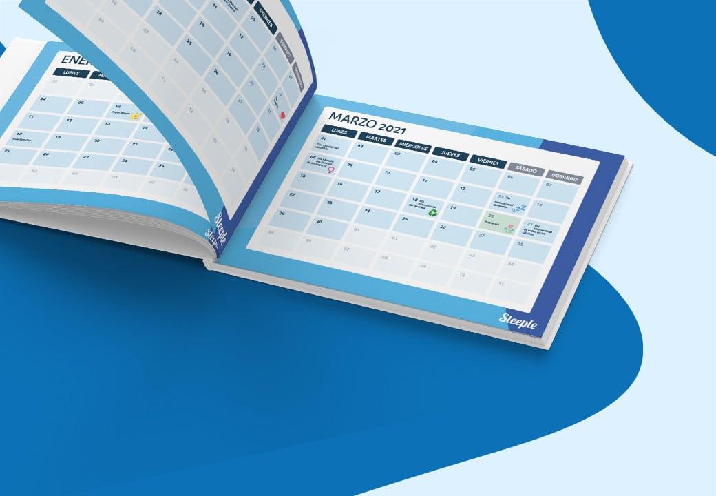 CALENDARIO 2021 : 50 fechas claves para animar la comunicación interna